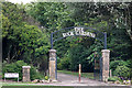 SD3138 : Entrance to The Rock Gardens, Devonshire Road, Blackpool by Tom Richardson