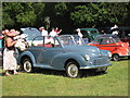 TQ9141 : Morris Minor Convertible at Darling Buds Classic Car Show by Oast House Archive
