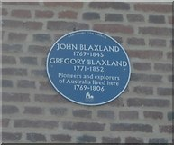 TR1859 : Blaxland Family Plaque by David Anstiss