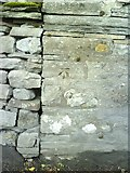 SD8789 : Benchmark on wall of Northgate House by Roger Templeman