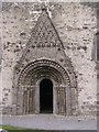 M9621 : Clonfert Cathedral, west door by Christopher Hilton