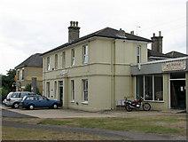 TM2863 : Framlingham: former railway station by John Sutton