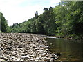 NY6761 : The River South Tyne upstream from Bridge End by Mike Quinn