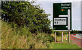 J2054 : Advance direction sign, Dromore bypass by Albert Bridge