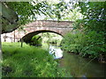 SO7598 : Stableford bridge from the riverbank by Richard Law