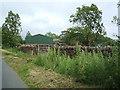 NY7212 : Farm buildings, Grassgill by David Brown