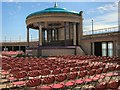 TV6198 : Seating by Eastbourne Bandstand by Paul Gillett