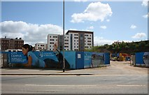 SO8455 : University of Worcester campus site by Bob Embleton