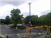 SP0278 : Northfield station car park by Andrew Abbott
