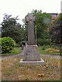 SJ8397 : St John's Gardens Memorial by David Dixon