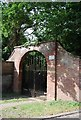 TG1910 : Back entrance to Hellesdon Hall by N Chadwick