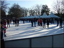 TQ2780 : Winter Wonderland at Hyde Park by Dave Hunt