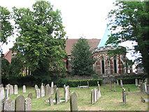 TM3389 : St Edmund's church, Bungay by Evelyn Simak