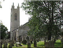 TM3389 : St Mary's church in Bungay by Evelyn Simak