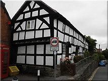 SO3958 : Timber farmed house, in Bridge Street, Pembridge by Roger Cornfoot
