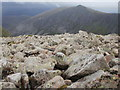 NH9601 : Field of rocks on the way up Braeriach by Peter S