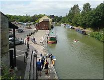 SU0061 : Devizes Wharf by Russel Wills