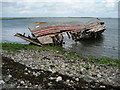 SD2365 : Wreck near Roa Island by Chris Heaton