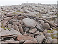 NN9899 : Rocky terrain on the approach to the summit of Ben Macdui by Peter S