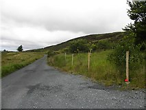 C1113 : Road near Croaghmore by Kenneth  Allen