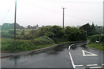 J3633 : Ballyhafry Road at its junction with the Newcastle Road by Eric Jones
