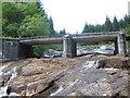 NN0640 : Bridge over the Allt Easach by John Ferguson
