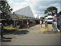 NT1473 : Sheep pens: Ingliston showground by Jim Smillie
