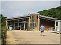 TR3342 : Langdon Cliffs Visitor Centre by Oast House Archive