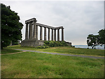 NT2674 : National Monument on the Calton Hill by Chris Gunns