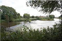 SO8453 : Diglis Weir on the river Severn by Bob Embleton