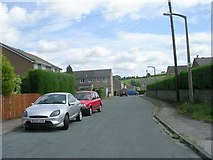 SE1407 : Ryebank - Upper Bank End Road by Betty Longbottom