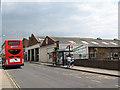TR1768 : Herne Bay bus garage by Stephen Craven