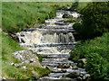 SN7454 : Afon Doethie Fawr near Blaendoethie, Ceredigion by Roger  Kidd