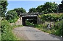 NT1784 : Railway Bridge on Cockairnie Road by Robert Struthers