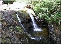 J3629 : Waterfall below Craignagore Bridge by Eric Jones