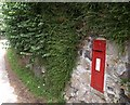 SX7980 : Postbox at Knowle by Derek Harper