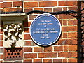 SP5007 : Blue plaque, 2 Polstead Road, Oxford by Brian Robert Marshall