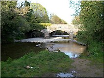 J3731 : The River Shimna at the New Bridge Bryansford Road by Eric Jones