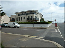TQ1602 : Postbox at the junction of Brighton and Navarino Roads by Basher Eyre