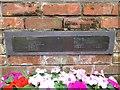 TG1323 : Memorial plaque to American Airmen, Cawston, Norfolk by Adrian S Pye
