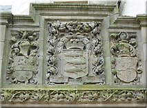 NT2540 : Chambers Institute carved lintel by kim traynor
