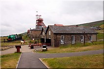SO2308 : The entrance building and gift shop at Big Pit by Steve Daniels
