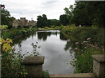 ST3505 : The Long Pond at Forde Abbey by Sarah Charlesworth