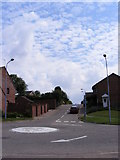 TM3877 : Dairy Hill, Halesworth by Adrian Cable