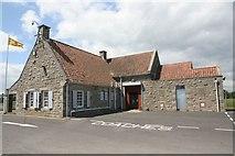 NO5608 : Odd looking farmhouse by Bill Nicholls