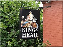 TG1508 : The Kings Head sign by Adrian S Pye