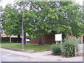 TG1504 : Hethersett Public Library by Geographer