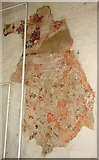 TG1508 : The church of SS Mary and Walstan in Bawburgh - medieval wallpainting by Evelyn Simak