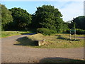ST4697 : Wern y Cwm car park, Kilgwrrwg Common by Ruth Sharville