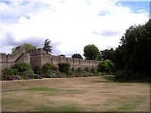 SP5106 : Oxford city walls at New College by Raymond Knapman